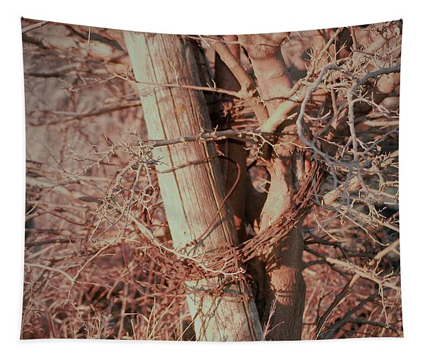 Fence Post Buddy Tapestry