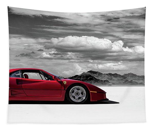 Ferrari F40 Tapestry