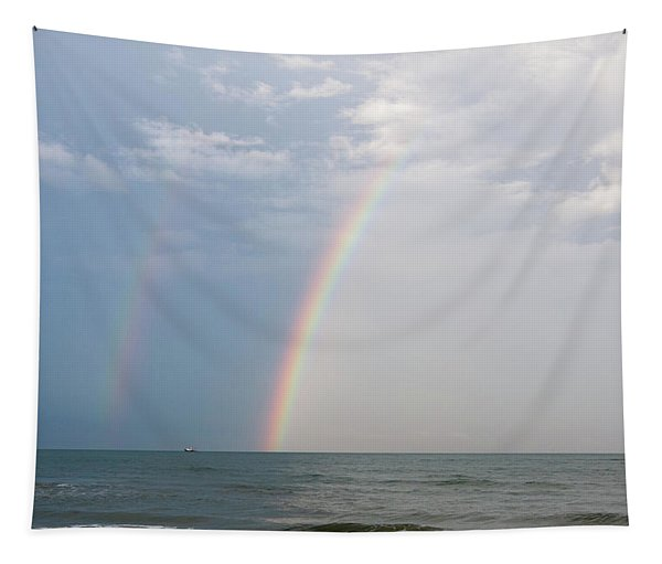 Fishing For A Pot Of Gold Tapestry