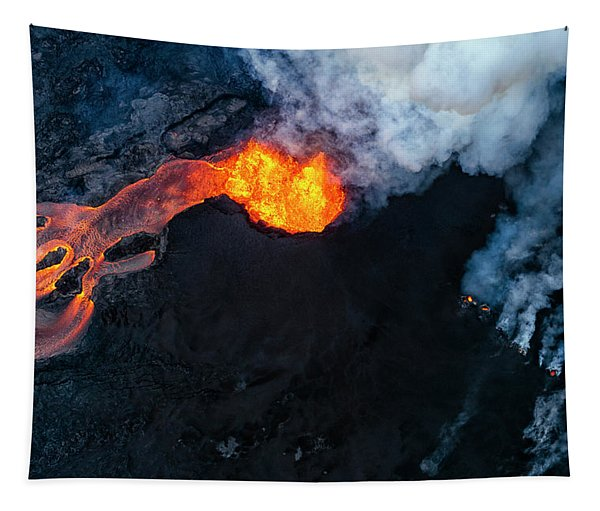 Fissure 8 Cinder Cone Tapestry