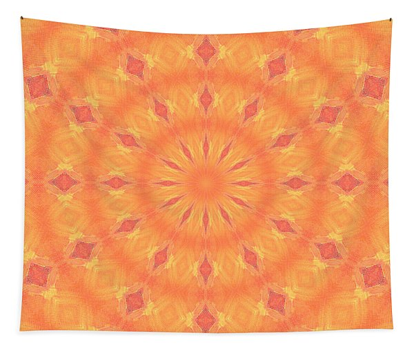 Flaming Sun Tapestry