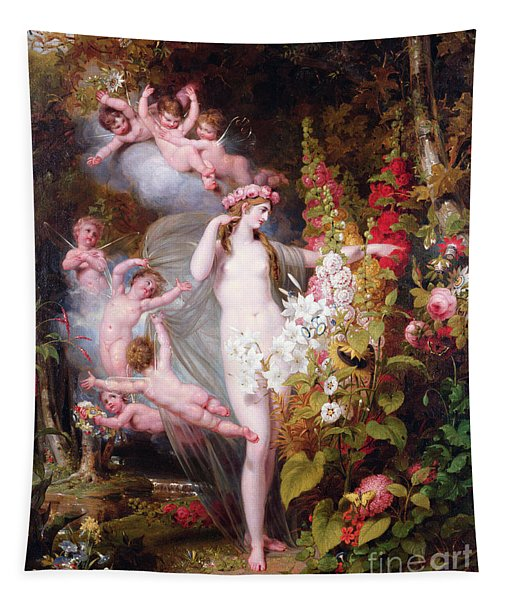 Flora Unveiled By Zephyrs Tapestry