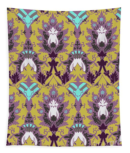Floral Decorative Pattern Tapestry