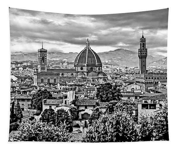 Florence 2 Bw Tapestry