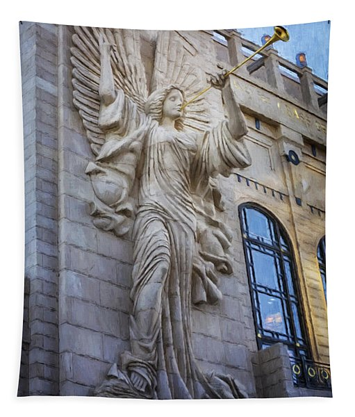 Fort Worth Impressions Bass Hall Angel Tapestry