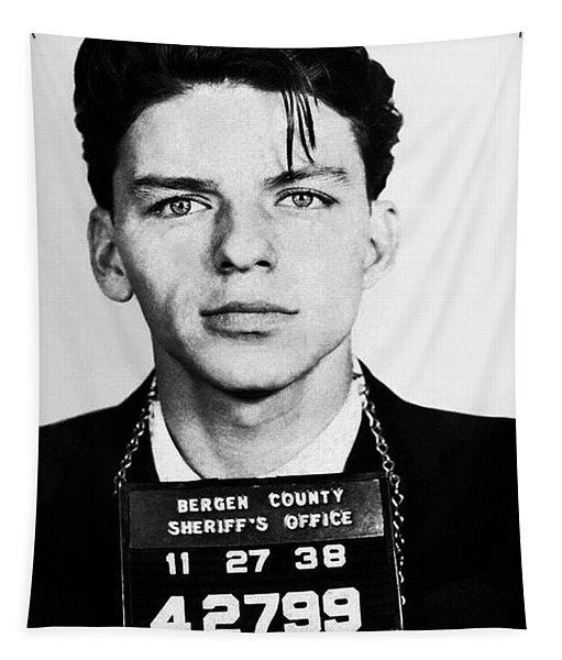 Frank Sinatra Mugshot Tapestry