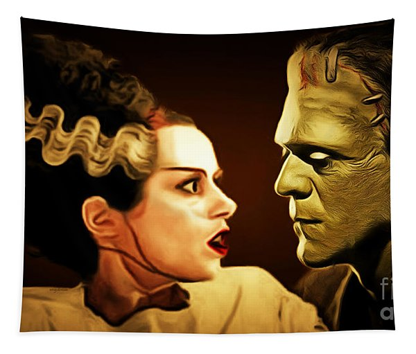 Frankenstein And The Bride I Have Love In Me The Likes Of Which You Can Scarcely Imagine 20170407 Tapestry