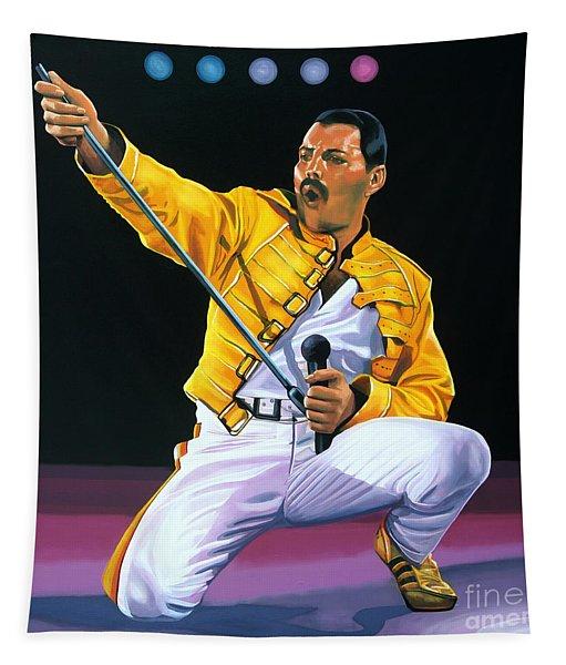 Freddie Mercury Live Tapestry