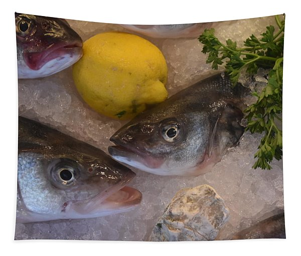 Fresh Fish Tapestry