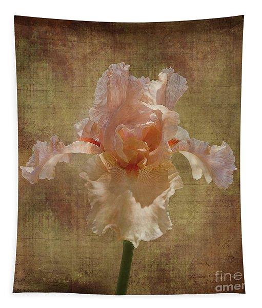 Frilly Iris Tapestry