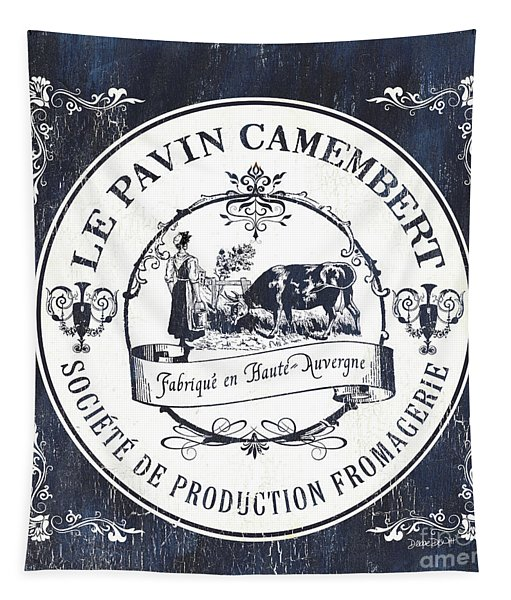 Fromage Label 1 Tapestry
