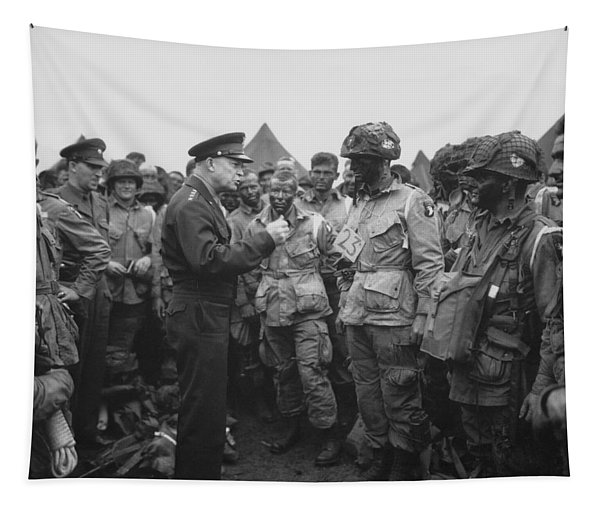 General Eisenhower On D-day  Tapestry