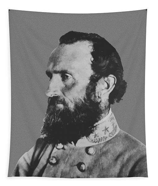 General Stonewall Jackson Profile Tapestry