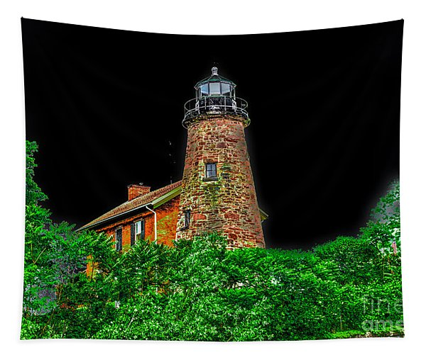Genesee Lighthouse Tapestry