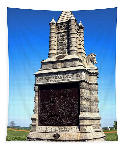 Gettysburg National Park 6th New York Cavalry Memorial Tapestry