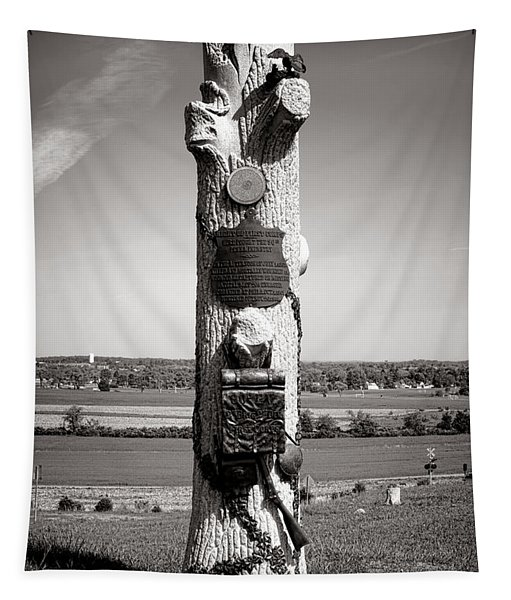 Gettysburg National Park 90th Pennsylvania Infantry Monument Tapestry