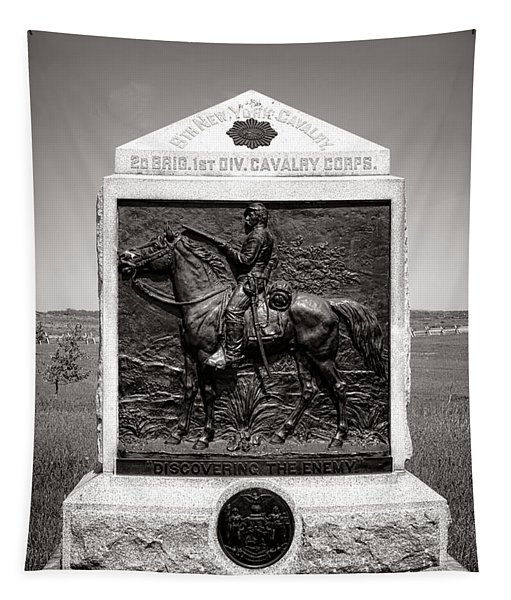 Gettysburg National Park 9th New York Cavalry Monument Tapestry