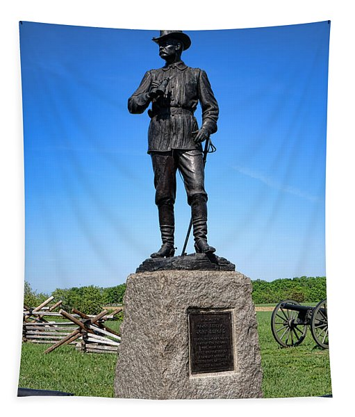 Gettysburg National Park Major General John Buford Memorial Tapestry
