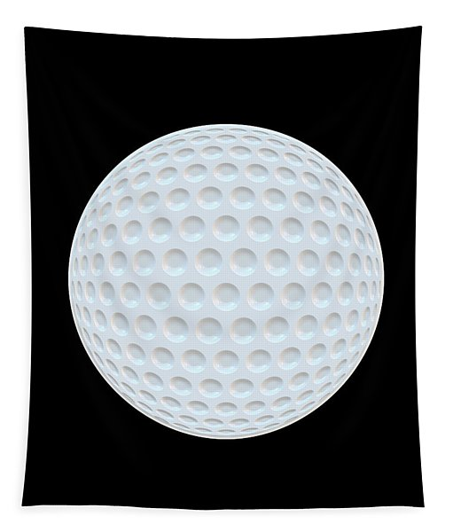 Golf Ball Abstract Tapestry