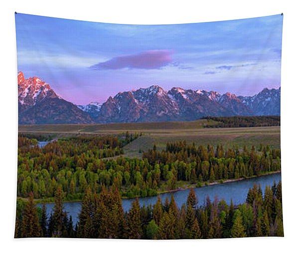Grand Tetons Tapestry