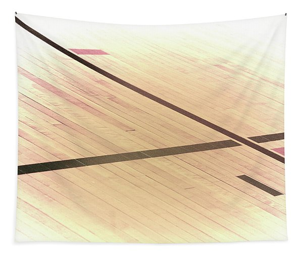 Gym Floor Tapestry