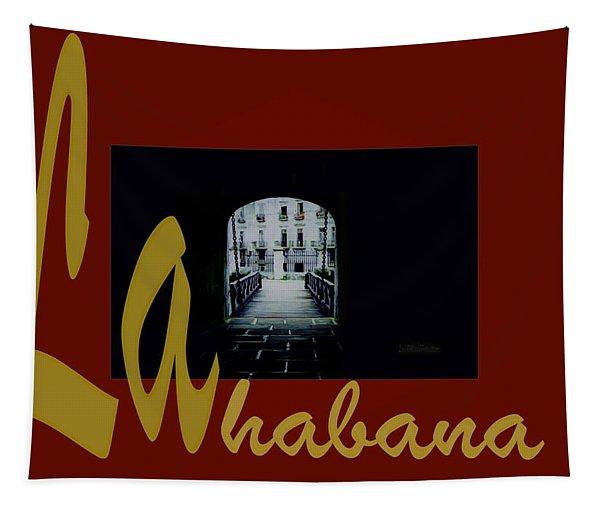 Havana Poster 2 Tapestry