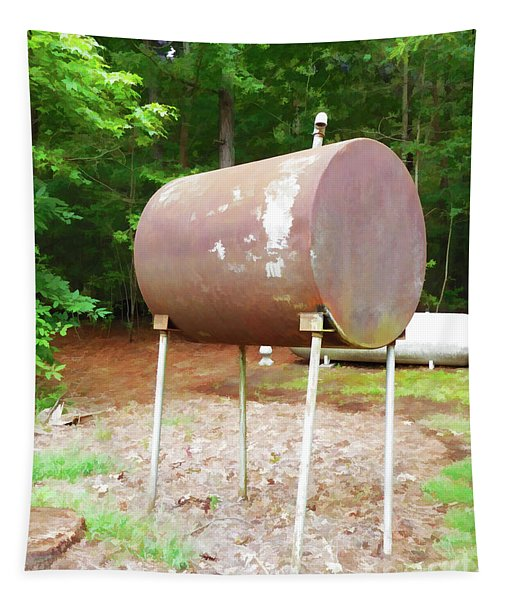 Home Heating Oil Tank 1 Tapestry
