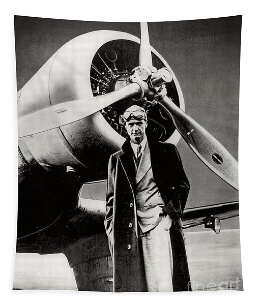 Howard Hughes - American Aviator  Tapestry