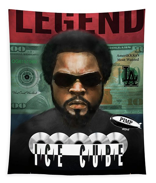 Ice Cube  Tapestry