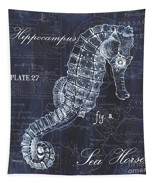 Indigo Verde Mar 1 Tapestry