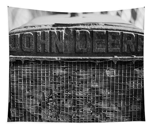 John Deere In Monochrome Tapestry