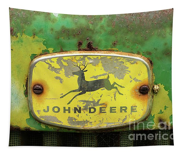 John Deere Tractor 19 Tapestry