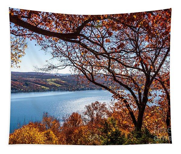 Keuka Lake Vista Tapestry