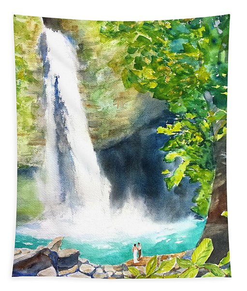 La Fortuna Waterfall Tapestry