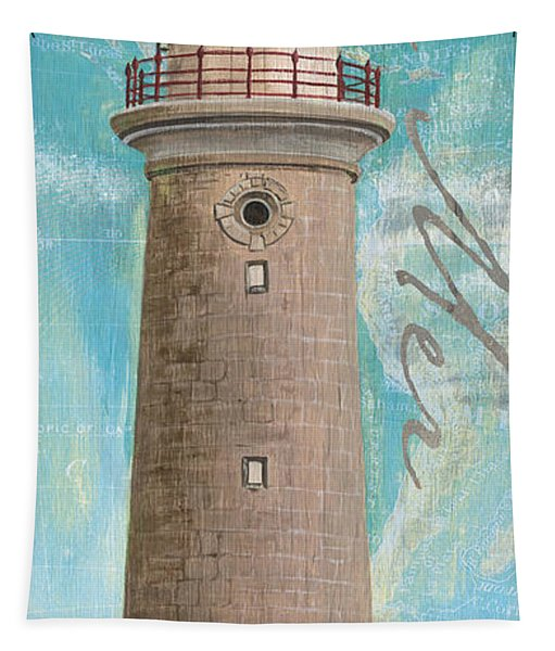 La Mer Lighthouse Tapestry