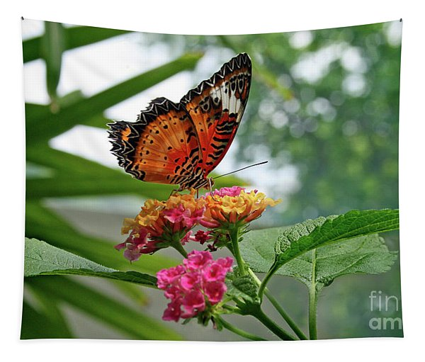 Lacewing Butterfly Tapestry
