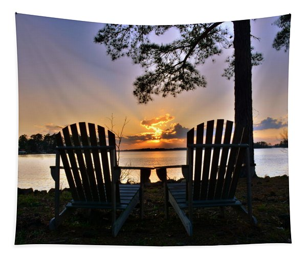 Lake Murray Relaxation Tapestry