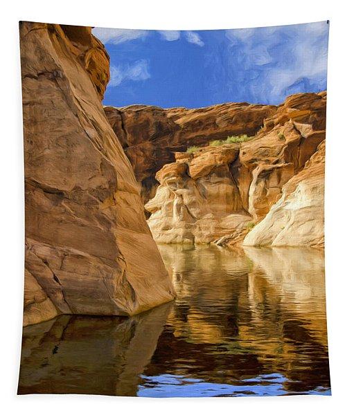 Lake Powell Stillness Tapestry