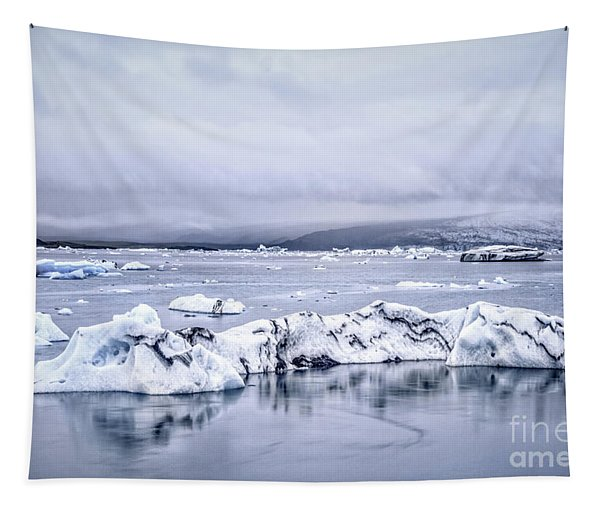 Land Of Ice Tapestry