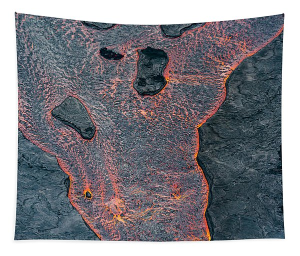 Lava River Texture Tapestry