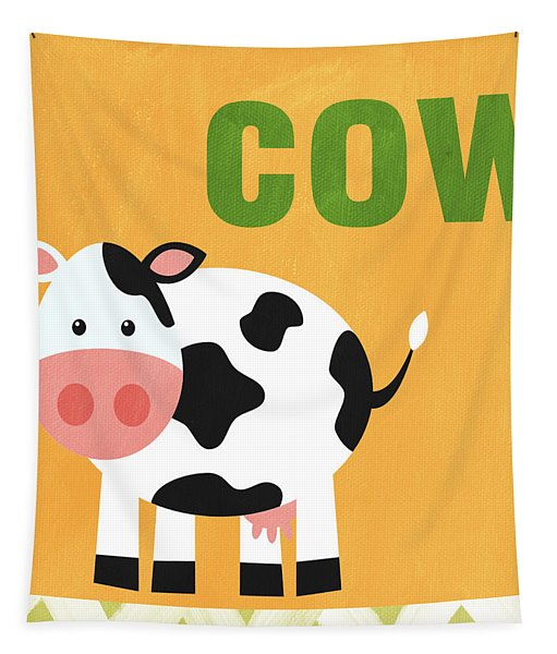 Little Cow Tapestry