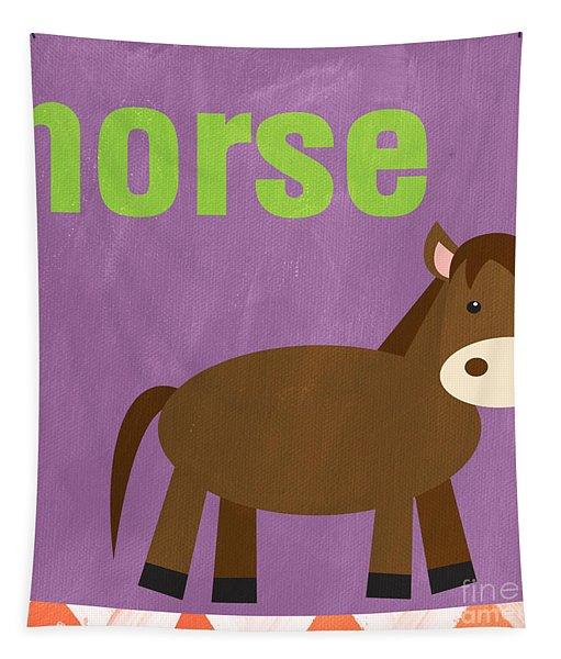 Little Horse Tapestry