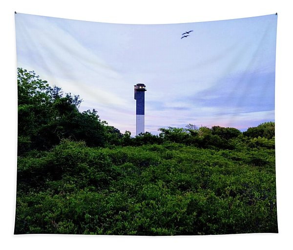 Lost Lighthouse Tapestry