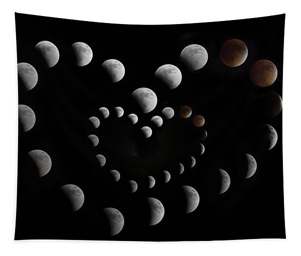 Love You To The Moon And Back II Tapestry
