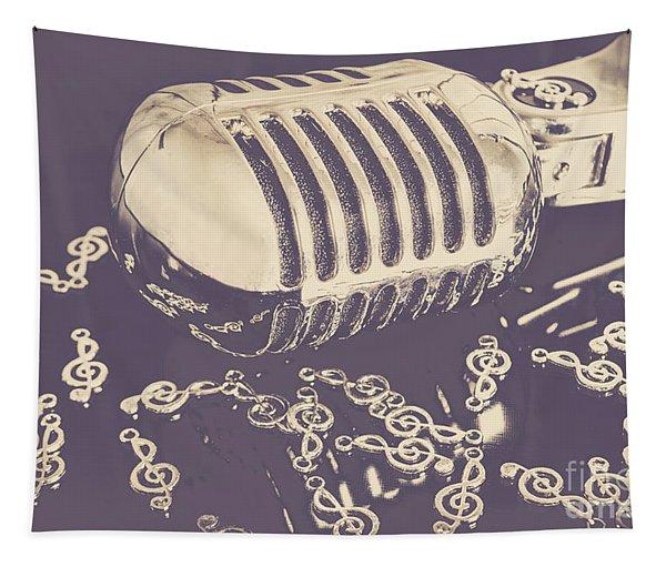 Low Key Jazz Bar Tapestry