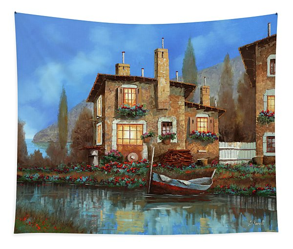 Luci Nel Blu Tapestry
