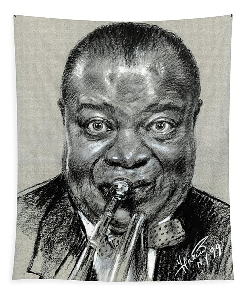 Louis  Armstrong Tapestry