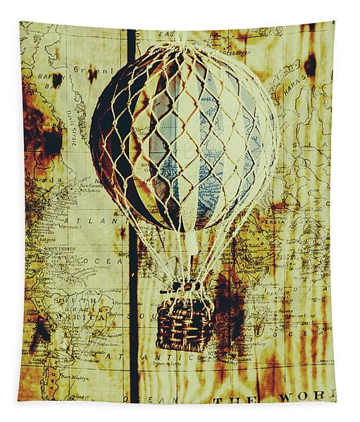 Mapping A Hot Air Balloon Tapestry