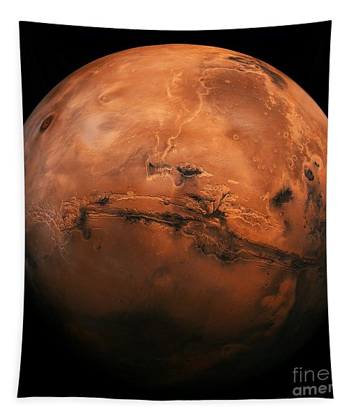Mars The Red Planet Tapestry