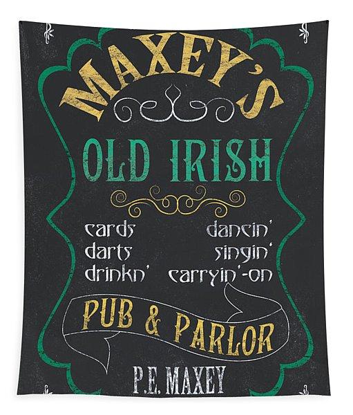 Maxey's Old Irish Pub Tapestry
